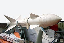 R-23R medium-range air-to-air missile